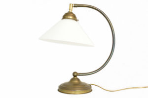 Lampa de birou din alama
