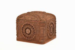 Cutie din lemn exotic