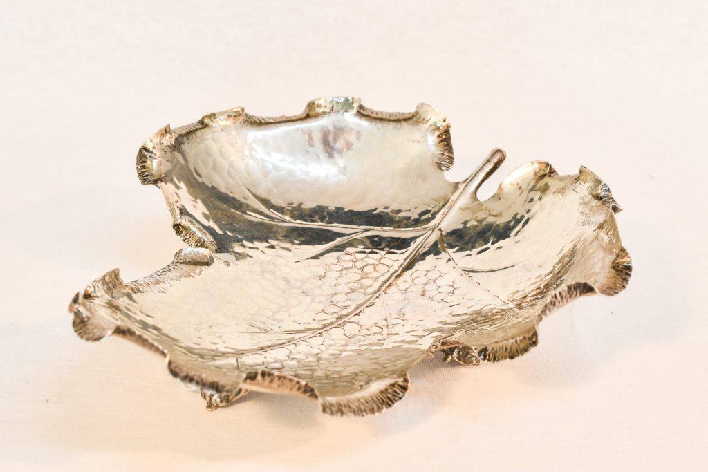 Fructiera Art Nouveau din argint