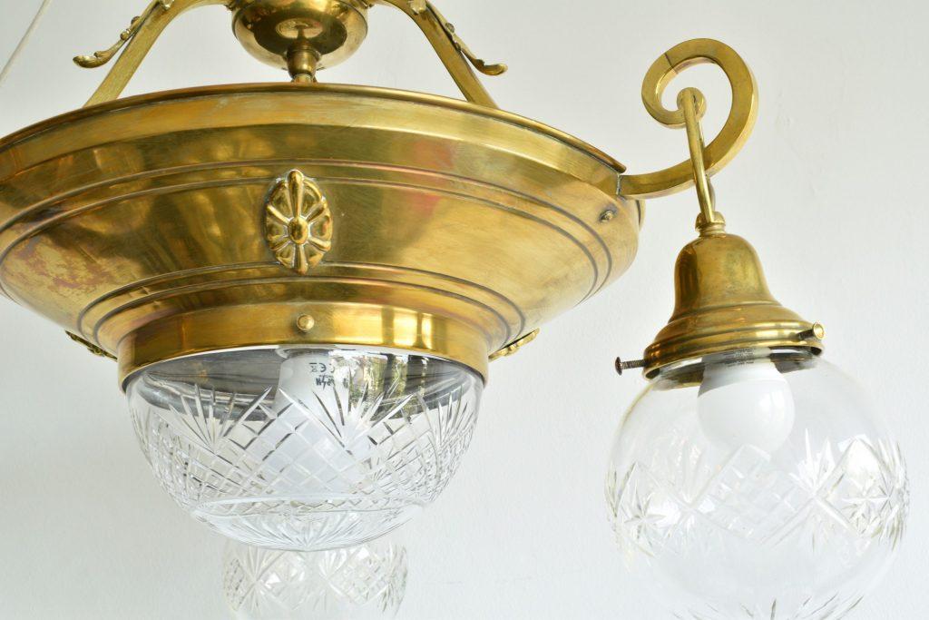 Lustra Art Nouveau cu 4 becuri