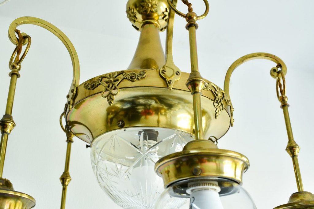 Lustra Art Nouveau