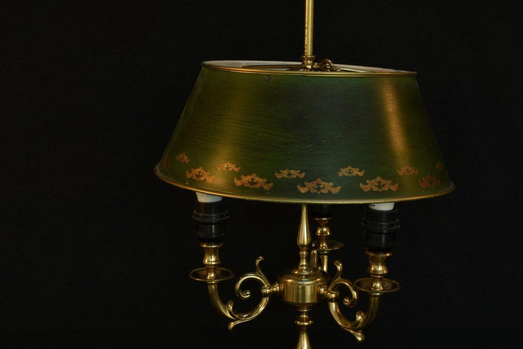 Lampa Bouillotte din bronz