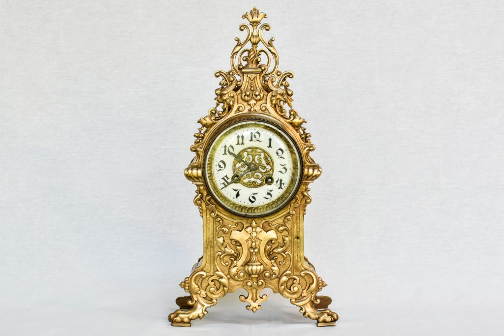 Ceas din bronz Japy Freres