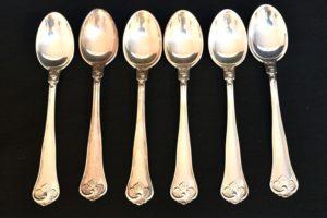 Set lingurite de argint