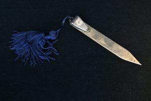 Semn de carte din argint 925