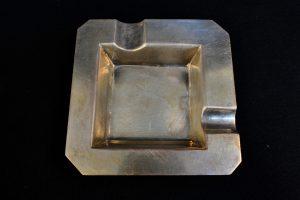 Scrumiera din argint 800
