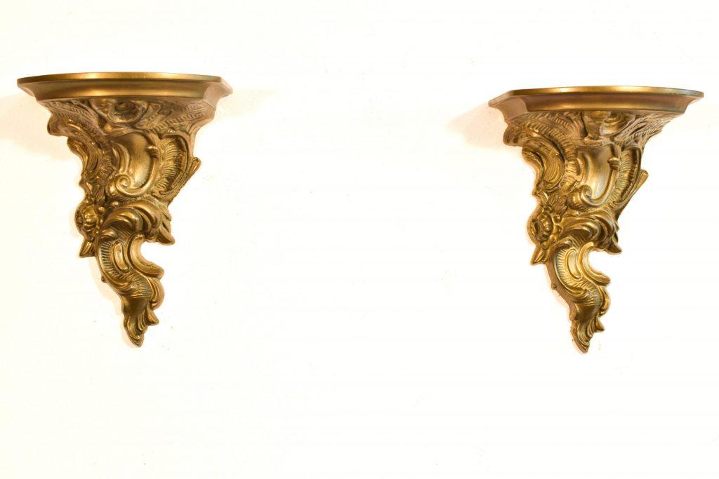 Set 2 console din bronz