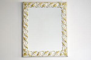 Oglinda cu rama ceramica