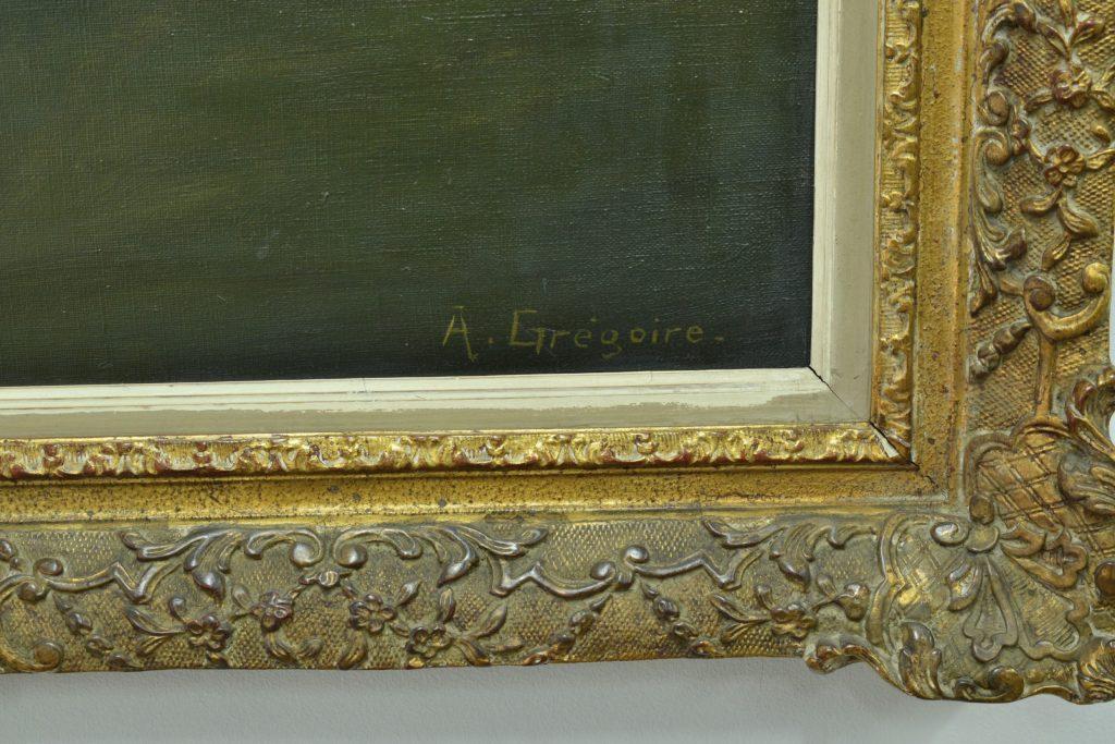 Tablou ulei pe panza semnat A. Gregorie