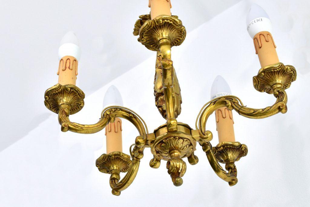 Candelabru din bronz
