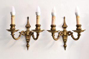 Set 2 aplice din bronz stil empire